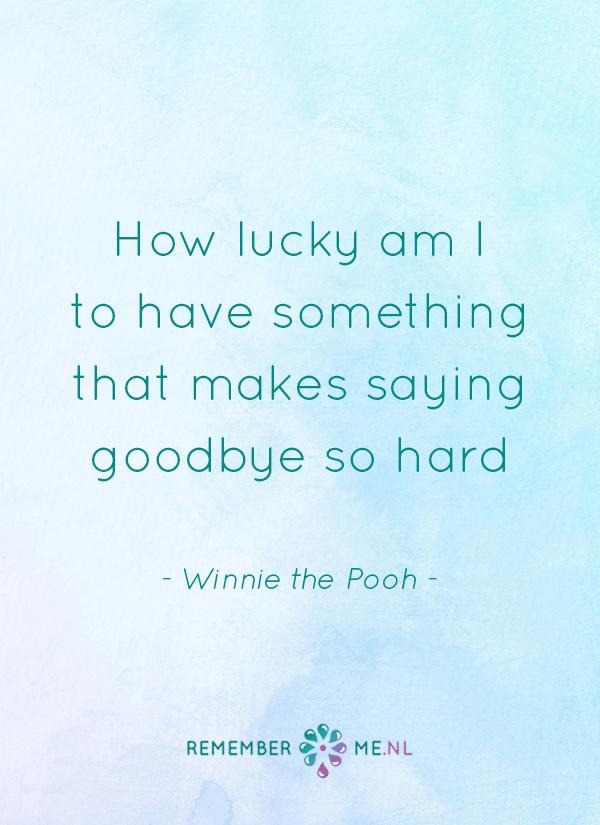 Citaten Voor Afscheid : Wijsheid van winnie the pooh een quote over het afscheid