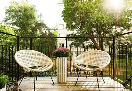 Bohemian Balkon Inrichting : Vlonder op balkon inrichting huis.com balkon pinterest