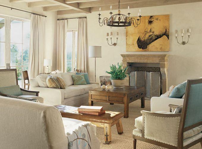 deco salon couleur taupe beige Salons - faire des travaux dans sa maison