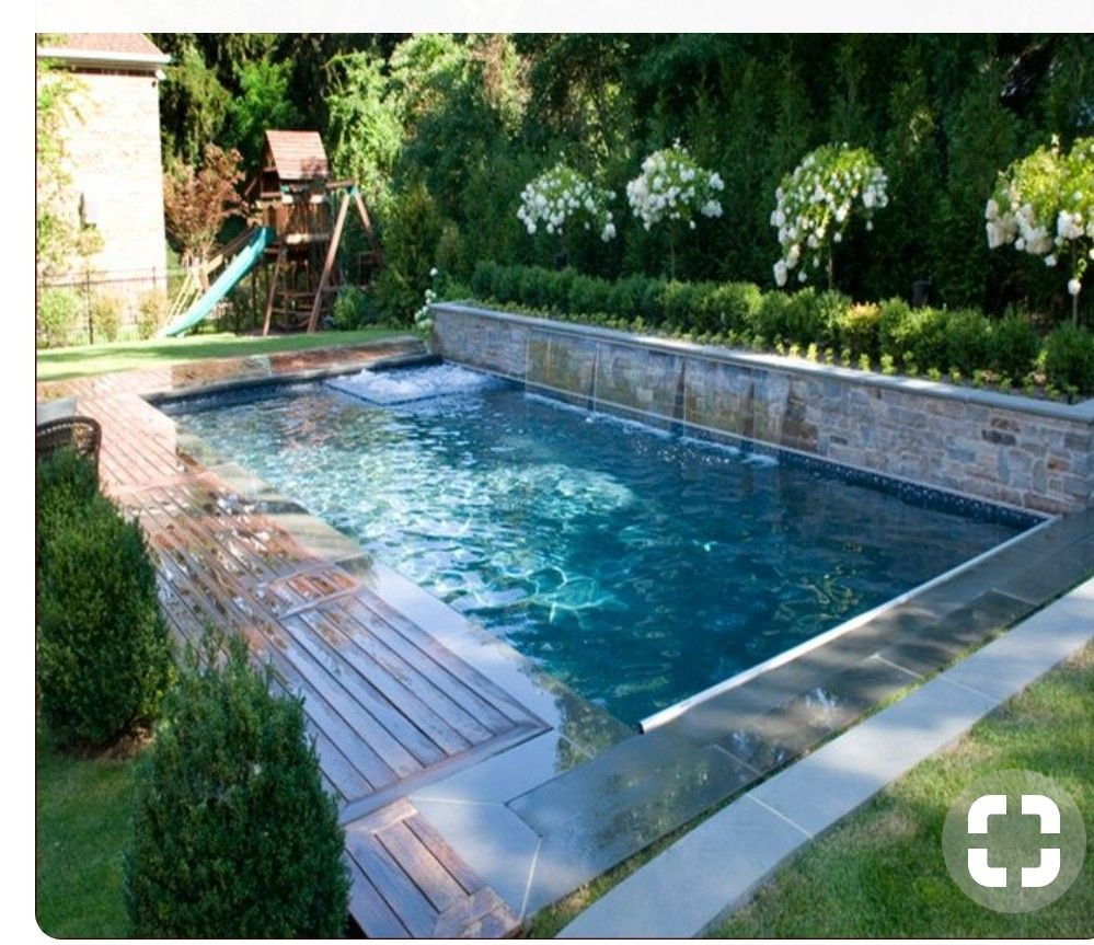 Pin By Fer Vazquez Caamaño On Casa Mogor Small Backyard Pools Small Inground Pool Small Pool Design