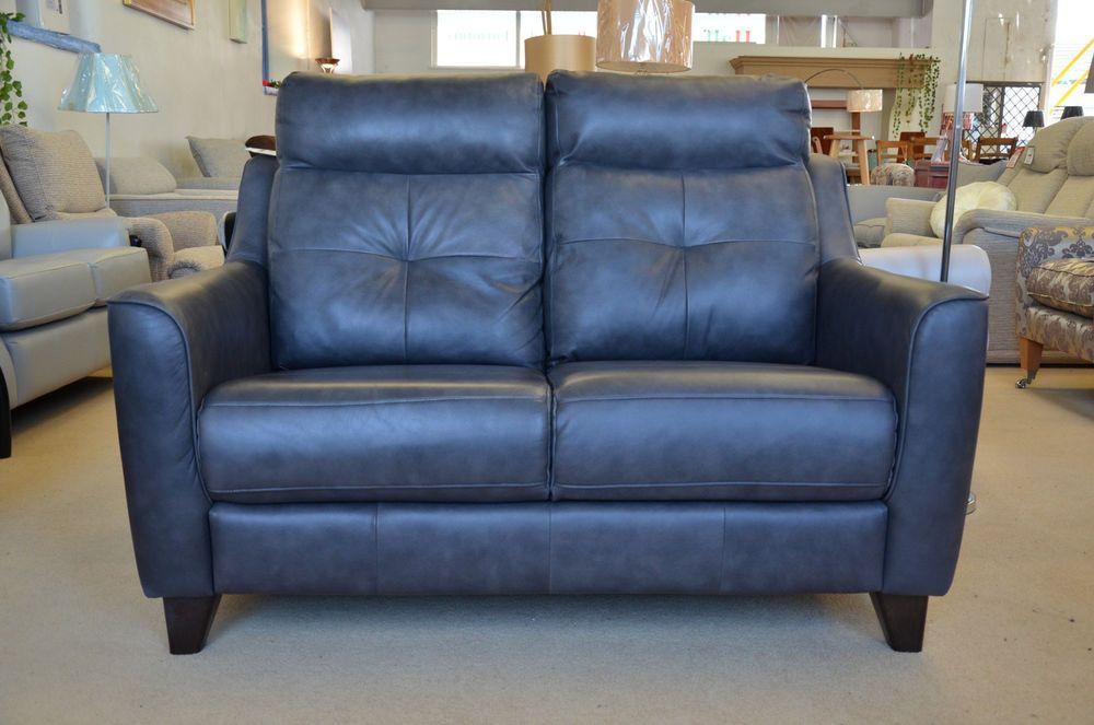 Phenomenal Two Seater Leather Sofa G Plan Tisbury In Grey 2 Str Ex Beutiful Home Inspiration Xortanetmahrainfo