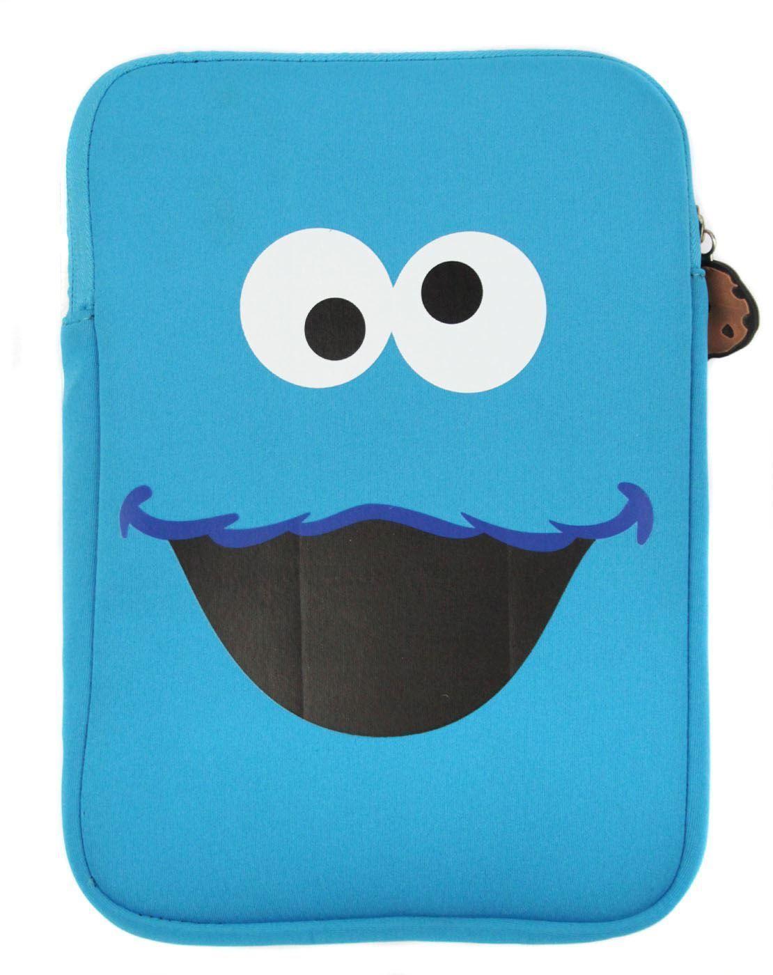 Sesame Street Cookie Monster Tablet Sleeve