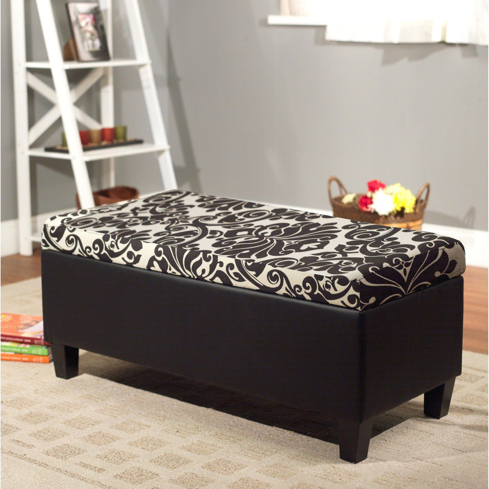 Target Marketing Systems Zoe Storage Bench | from hayneedle.com ...