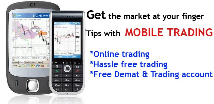 Trading stock broker
