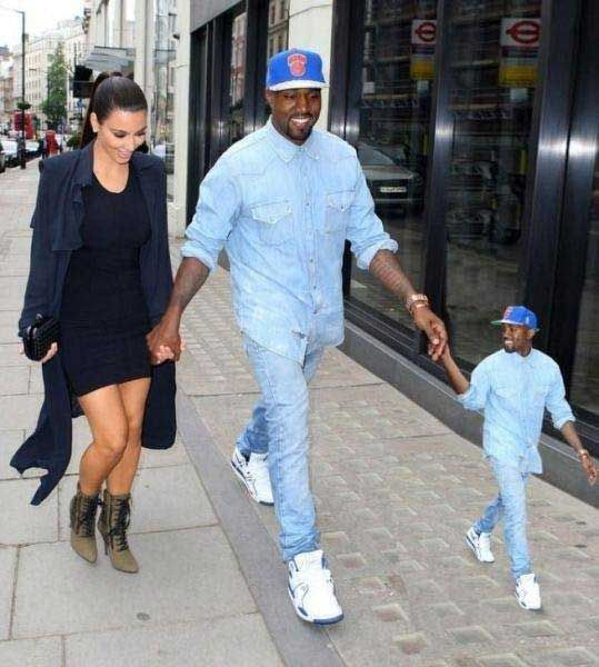 Kanye Takes His Favorite Person For A Walk Kanye West Kanye West Funny Kim Kardashian And Kanye