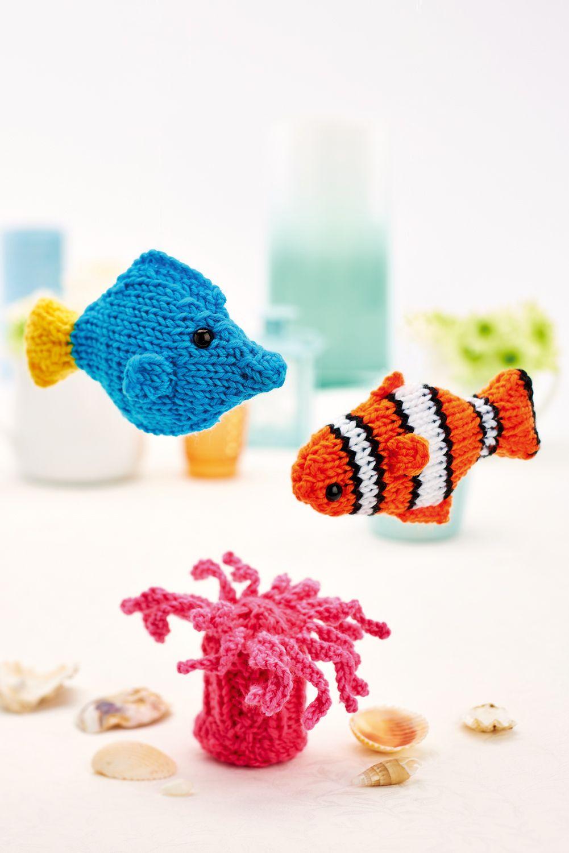 Clown fish and friends - Free Knitting Patterns - Kids Patterns ...