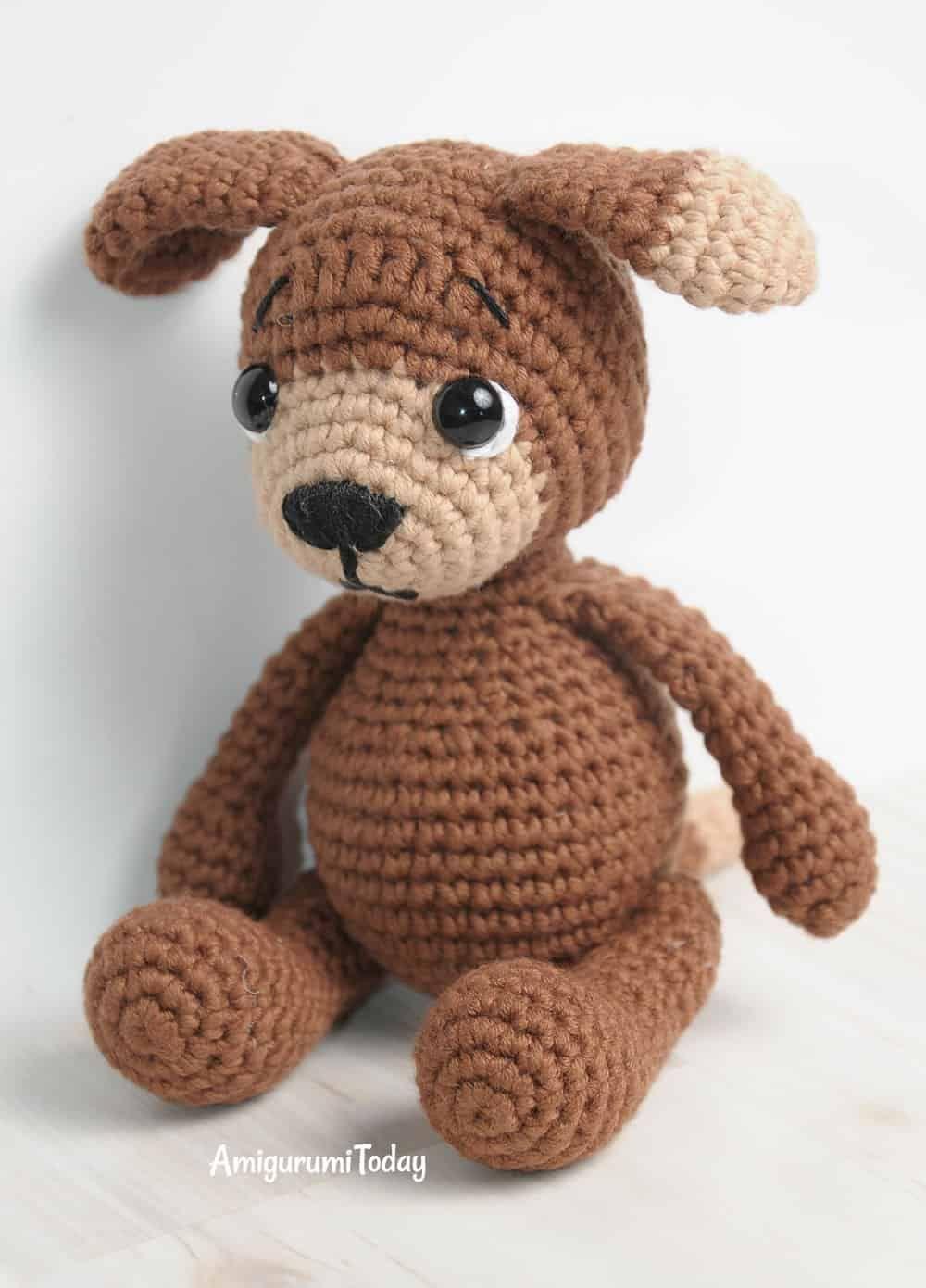 Amigurumi Timmy der Hund Häkelanleitung | Häkeln | Pinterest ...