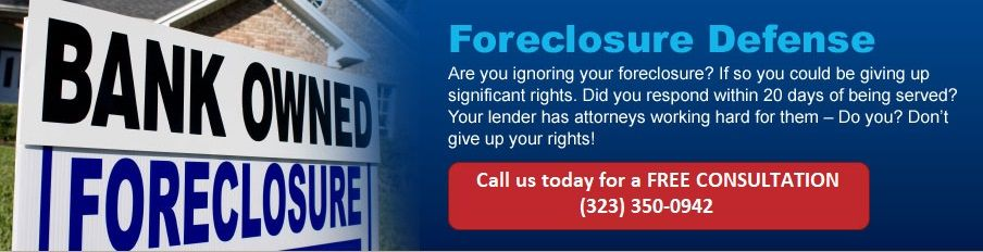 CA's Top Foreclosure Defense Firm. Set Up a Free