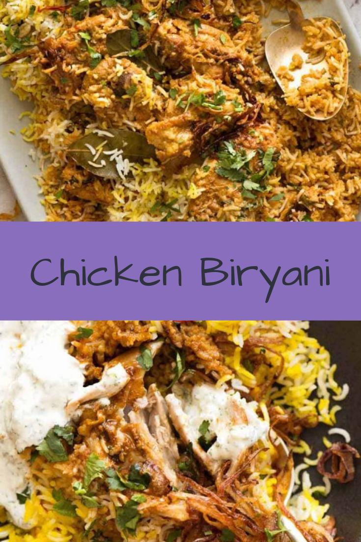 Chicken Biryani Recipe Chicken Chickenfoodrecipes Chickenrecipes