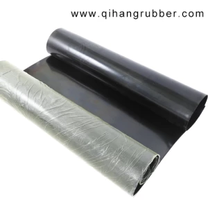 3mm T 1m W 10m L Black High Elongation Epdm Rubber Sheet