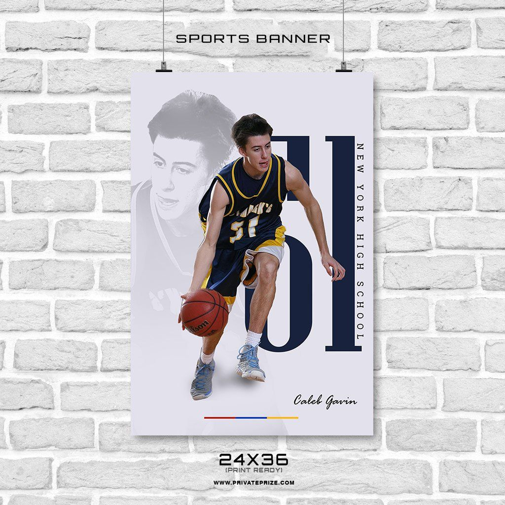 Basketball - Sport Banner Photoshop Vorlage