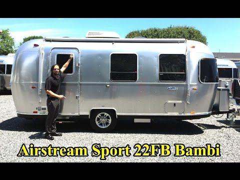Favorite Walk Through 2017 Airstream Sport 22fb Bambi Light