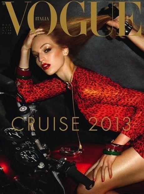 Vanessa Axente | Vogue Italia December 2012
