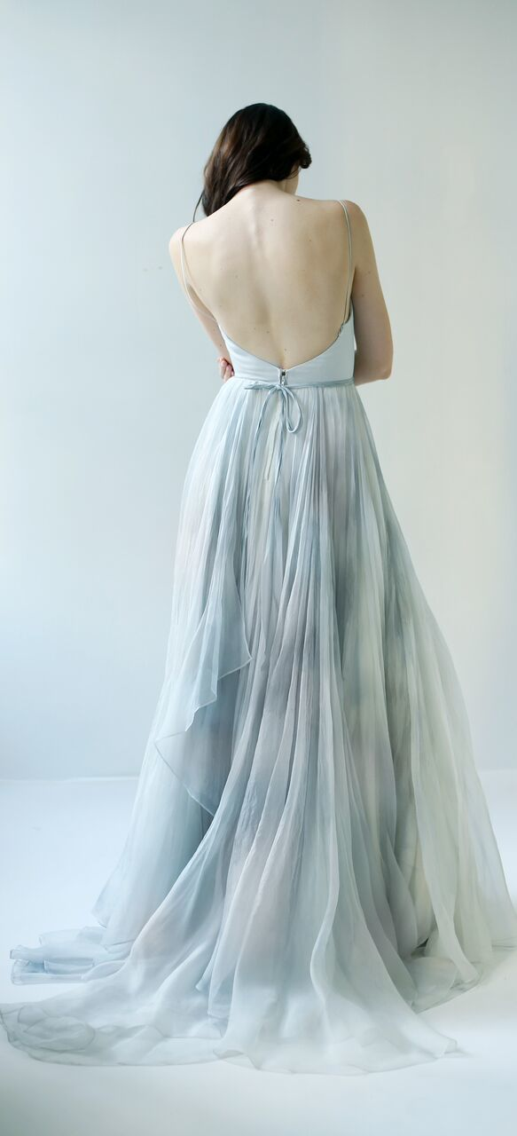 Leanne Marshall Raincloud Dress From Behind