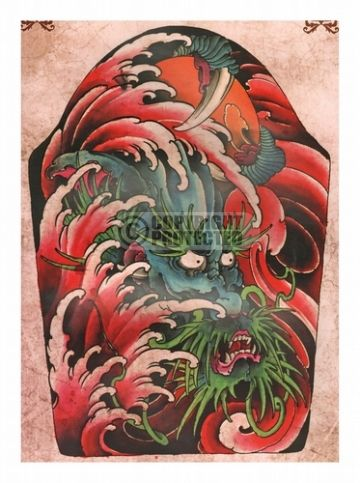 One of the latest designs by elvin yong rate review tattoo dragon coloring book page fandeluxe Epub