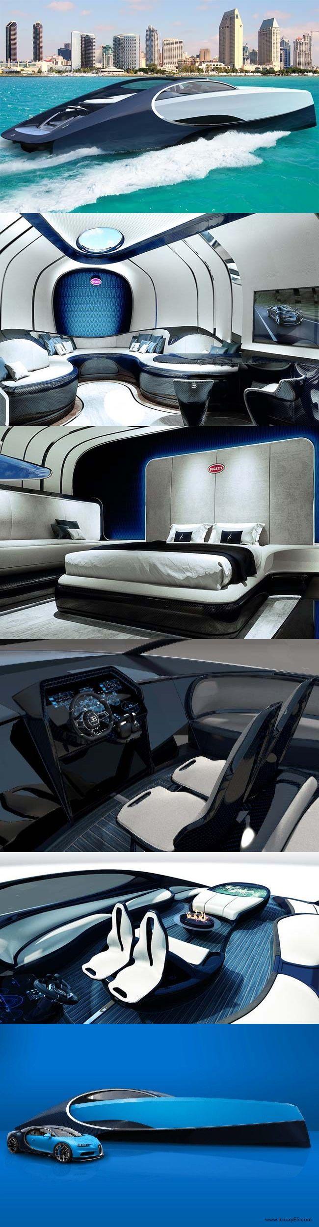 bugatti niniette 66 is the yacht of your dreams | scifi | barche