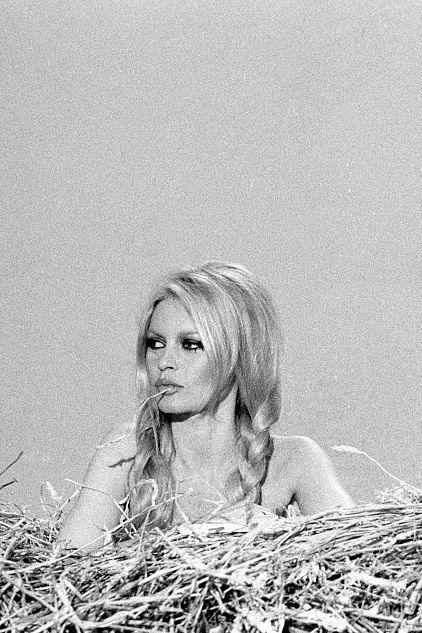 La Fille D En Face : fille, Brigitte, Bardot, Fille, Paille, [1968]:, Bardot,, Bridgette