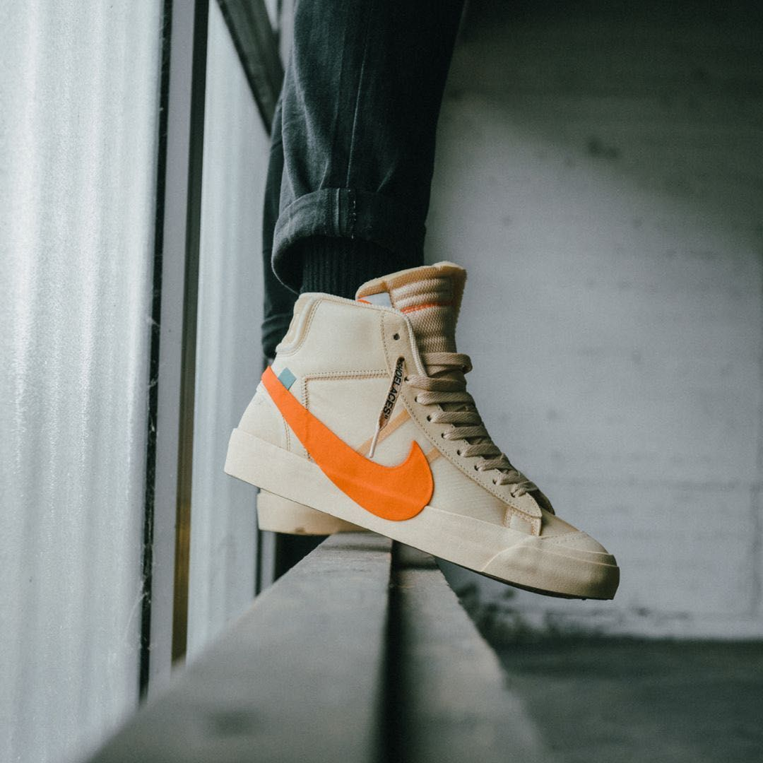 Off White x Nike Blazer Mid Vanilla « All Hallows Eve