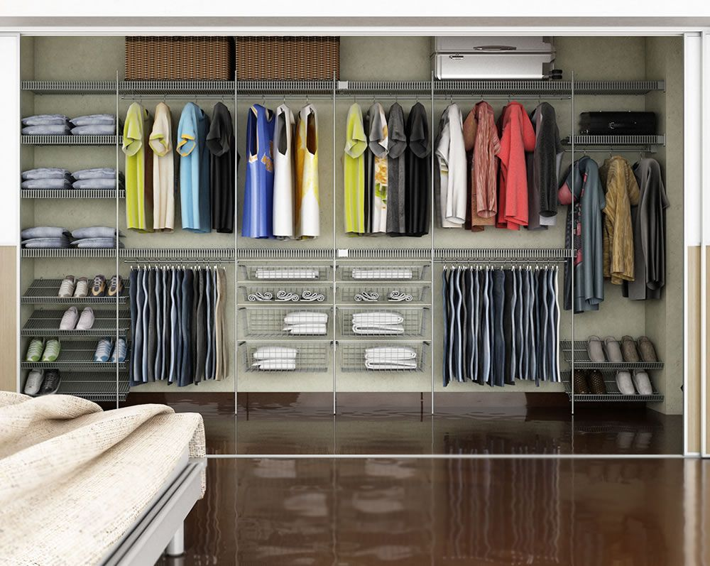 Fonte Http Www Closetcia Com Br Closets Ventilados Asp  ~ Diy Decoração Quarto Feminino E Quarto Pequeno Com Closed