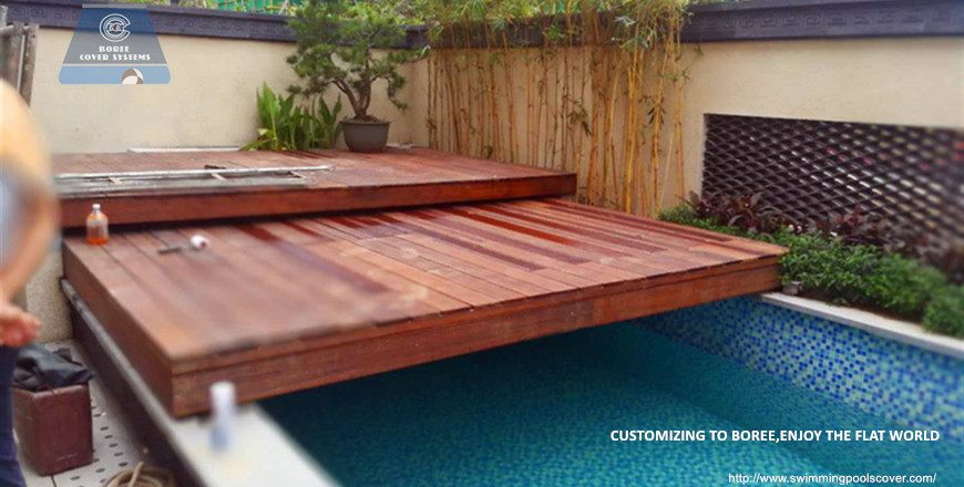 Security Sliding Deck Pool Cover Product Boree Cover Systems Wooden Pool Deck Pool Cover Wood Pool Deck