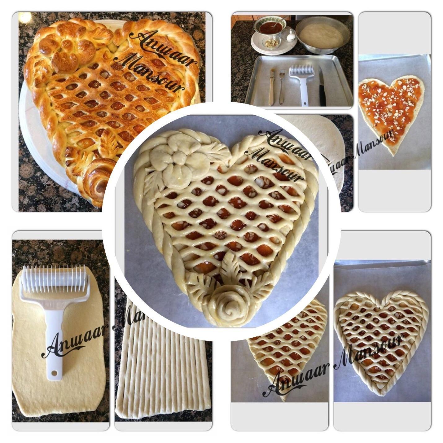 طريقة عمل معجنات مربى المشمش زاكي Breakfast Food Waffles