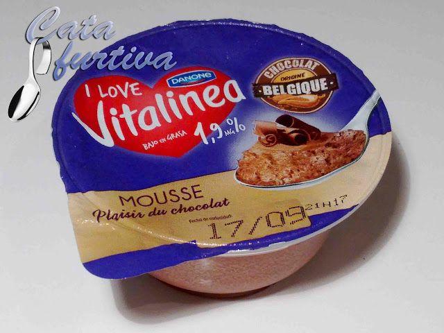 ''Mousse Plaisir du chocolat'' de Vitalinea (Danone) | Cata furtiva