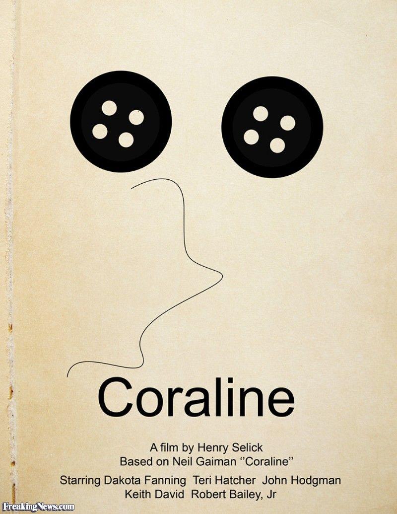 Coraline pictogram movie poster movie posters pictogram