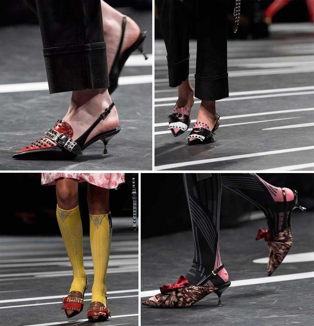 Scarpe primavera estate 2018 Tendenze: 100 calzature moda