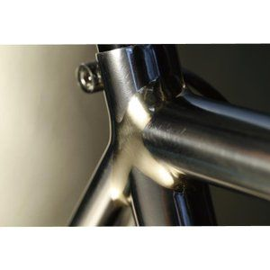 DE ROSA (デローザ)AGE アジェ Inossidabile Inox Blackサイズ47 (166-171cm)フレームセット