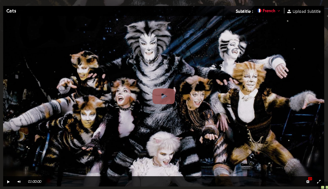 Hd Cats 1998 Film Complet En Francais In 2020 Full Movies Musicals Cats