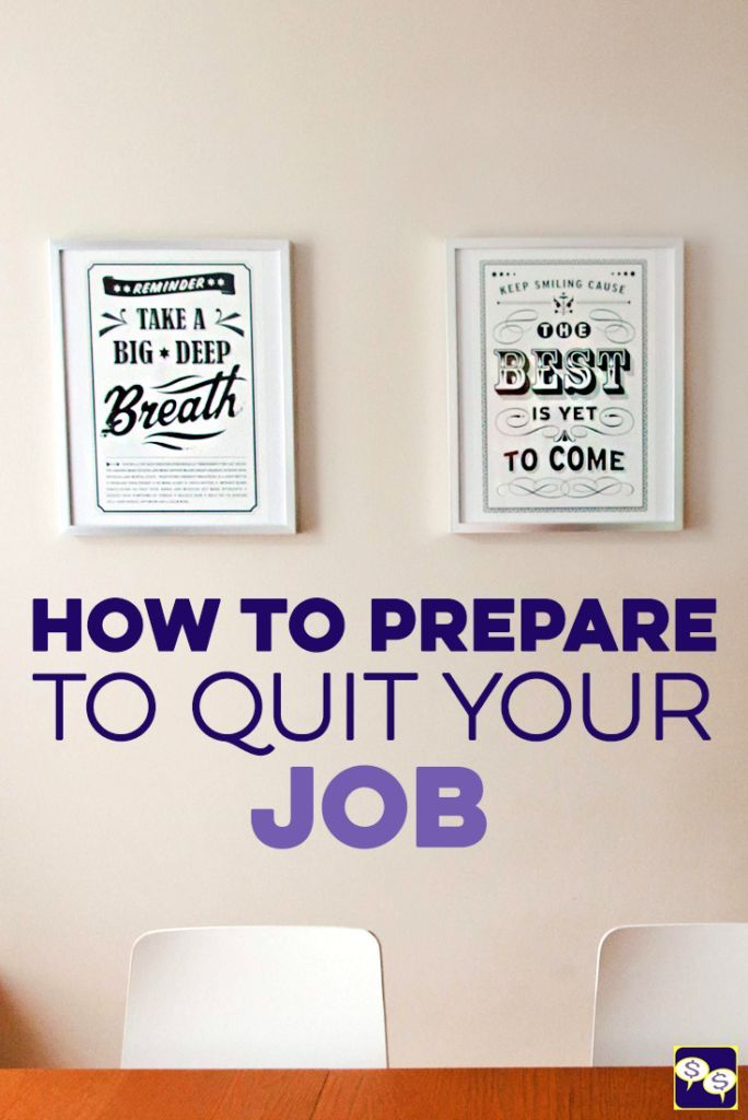 Feel like it\u0027s time to quit your job, but are too nervous and don\u0027t