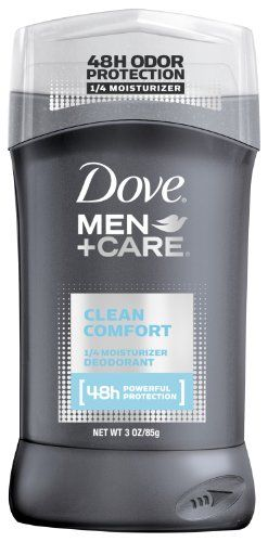 Deodorant from Dove specifically designed to give men powerful 48-hour protection against underarm odor plus 1/4 moisturizer technology. The bottom line? It's tough on odor not on skin.  ...