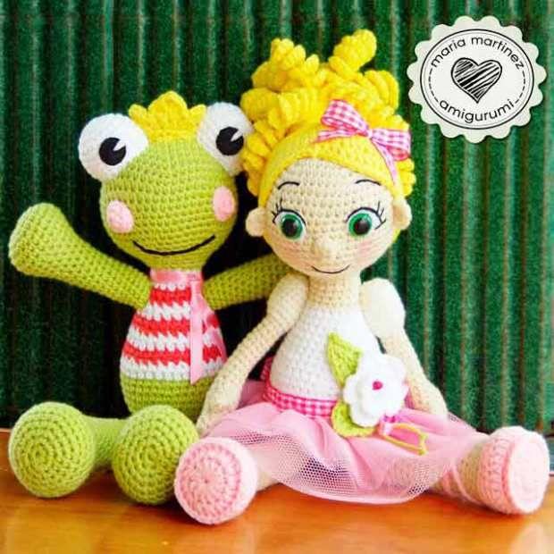 Maria Martinez Muñecos de Crochet | AMIGURIMI | Pinterest | Ranas ...