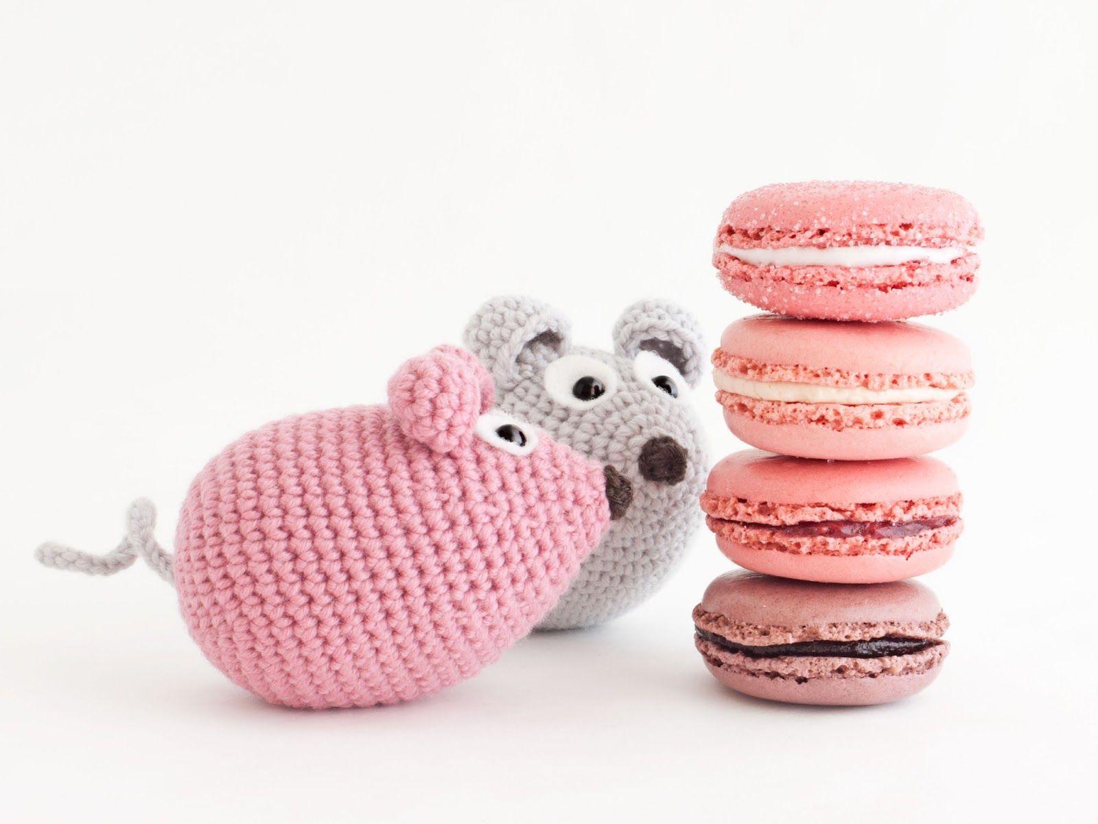 Amigurumi ratón (enlace a patrón gratis) | Amigurumi | Pinterest ...