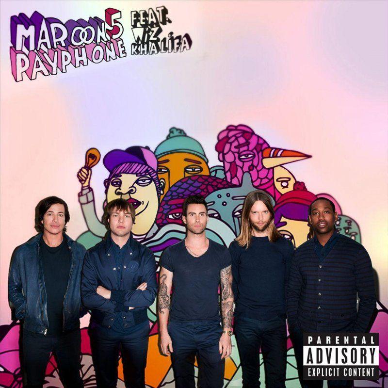 Maroon 5, Wiz Khalifa – Payphone (single cover art)