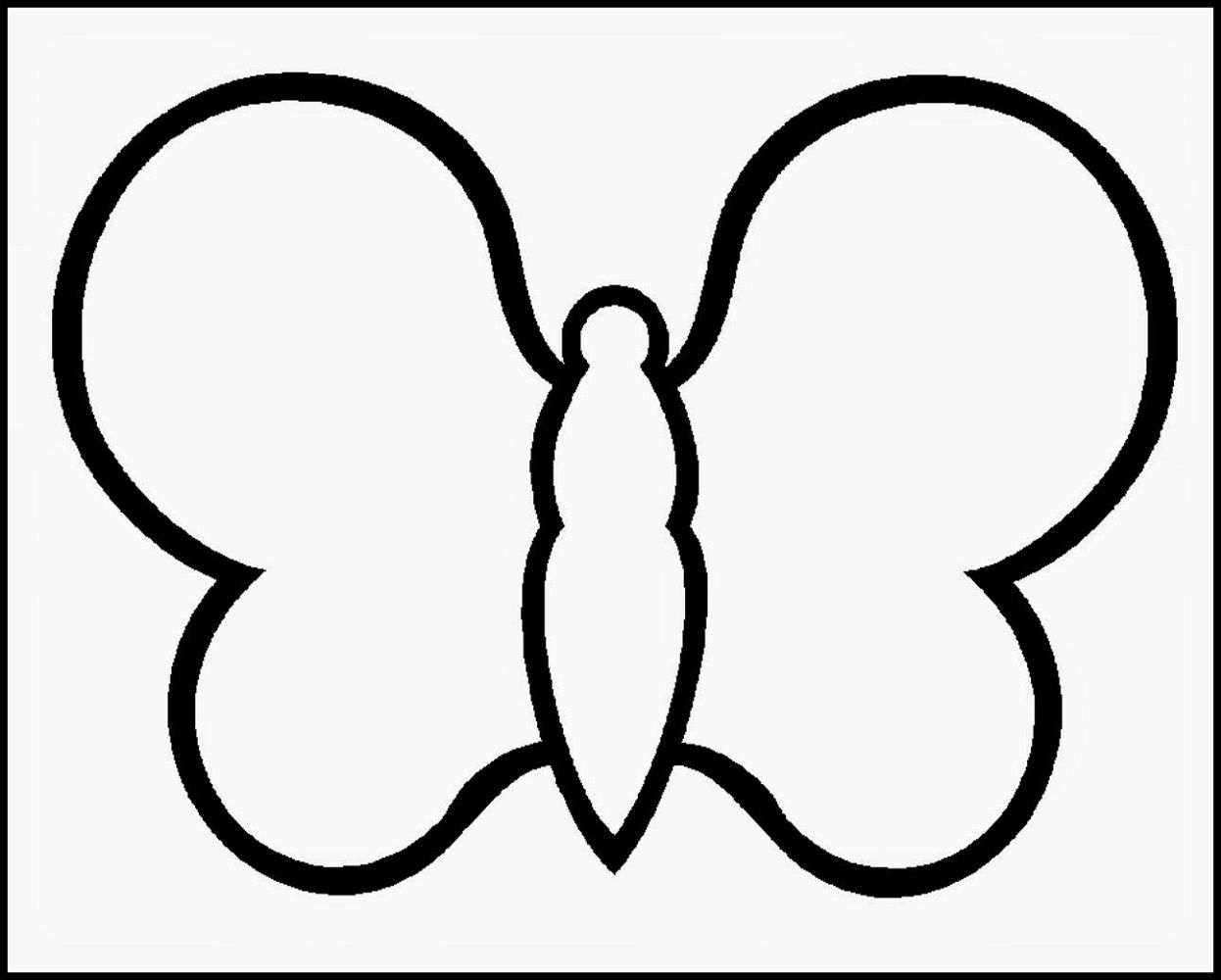 Printable Worksheets For Two Year Olds Butterfly Coloring Page Easy Coloring Pages Coloring Pages Inspirational