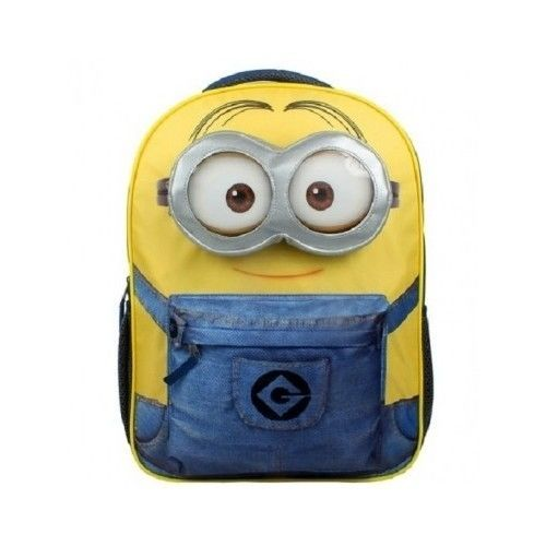 a558cbde31b0 Minion Back Pack Bag Despicable Me School Minions Kids Boys Lunch ...