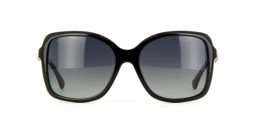 1b853590a68 Chanel 5308B 501S8 Polarised Black Sunglasses