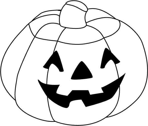 download Halloween pumpkin coloring pages for kids boys and girls