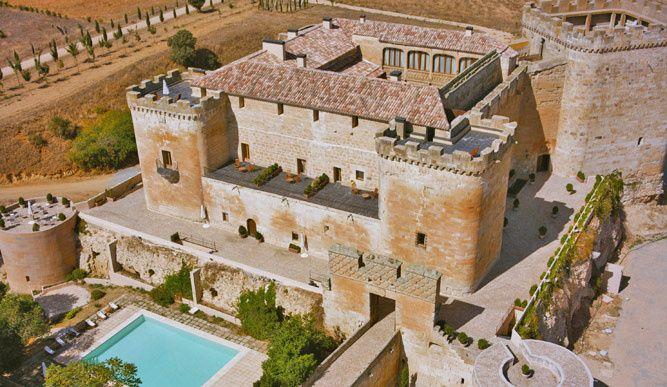 Torreon Y Almenas Privadas En La Habitacion 53 Castillos