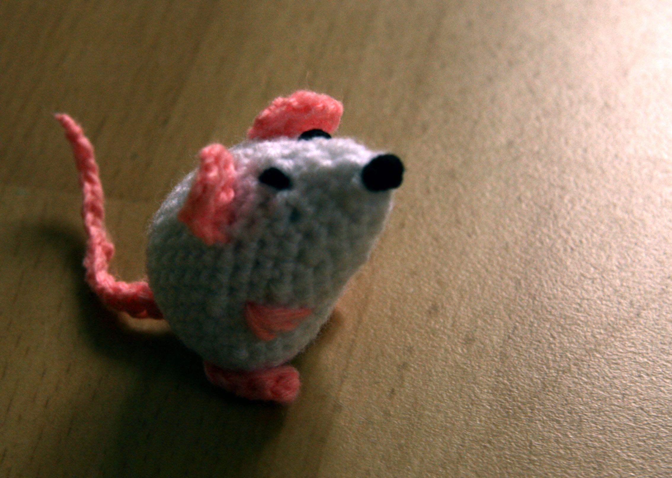 Maus Gehäkelt Idee Von Wwwfusselideende Békák Egerek Méhek