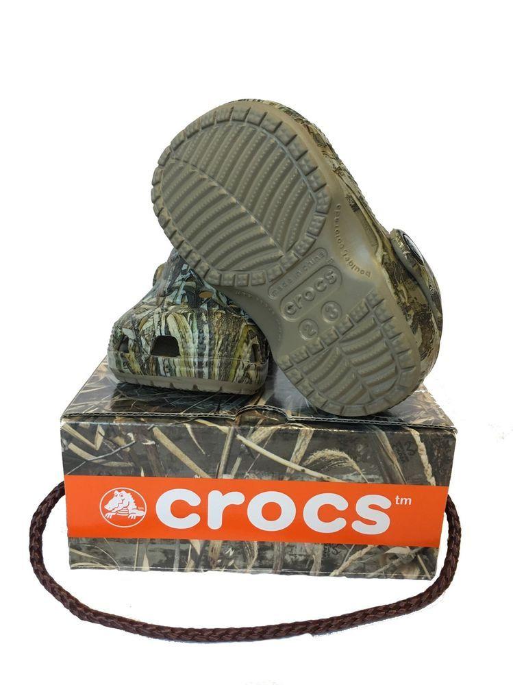 Kids Crocs Classic Camo RealTree
