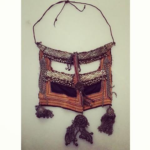 Saudi Arabian Bedouin Face Veil Traditional Outfits Women Face Veil