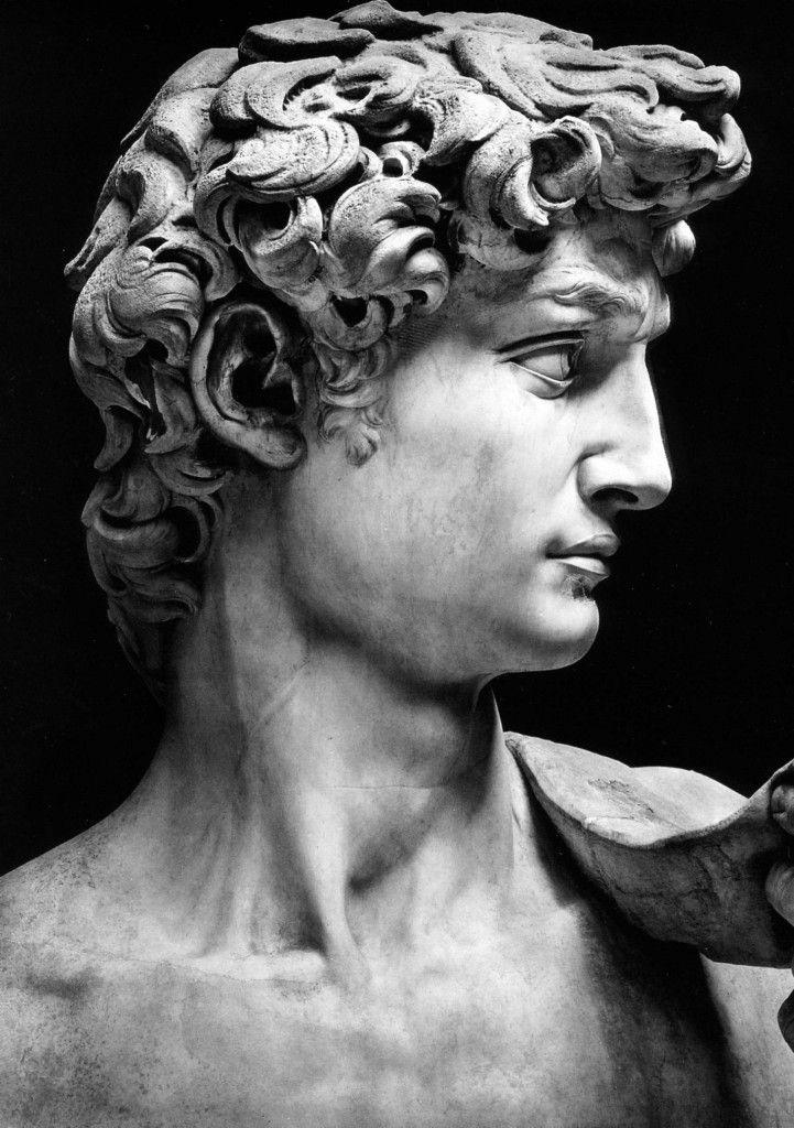 Michelangelo, David Anonimo Roman sculpture, Classic