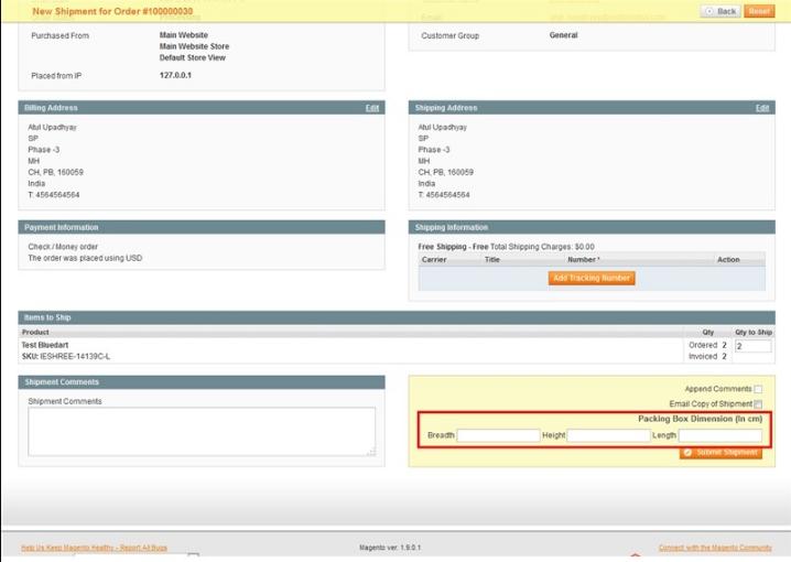Blue Dart Shipping Integration Magento1 Extension | Amazing | Blue