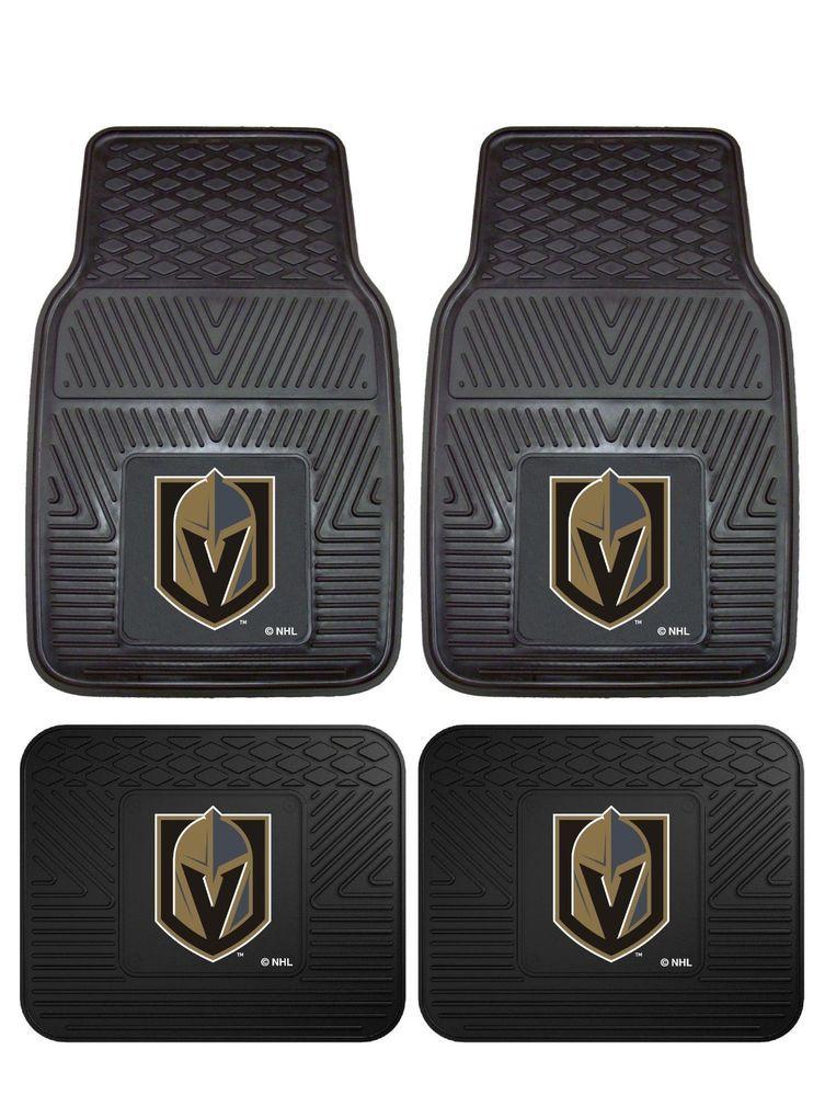 Details about Vegas Golden Knights Heavy Duty Vinyl Car