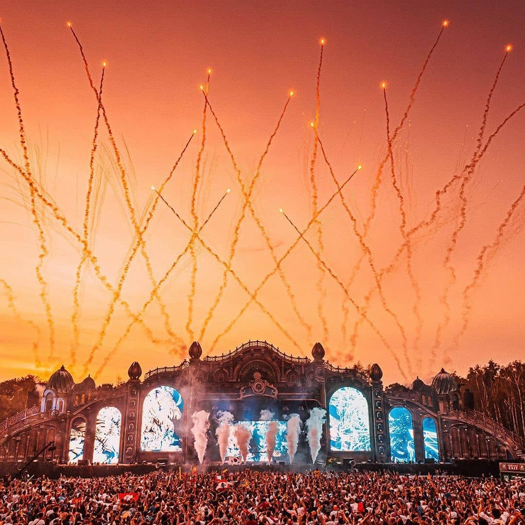 Sunset At The Holy Grounds Tomorrowland Festival Tomorrowland Music Festival Tomorrowland