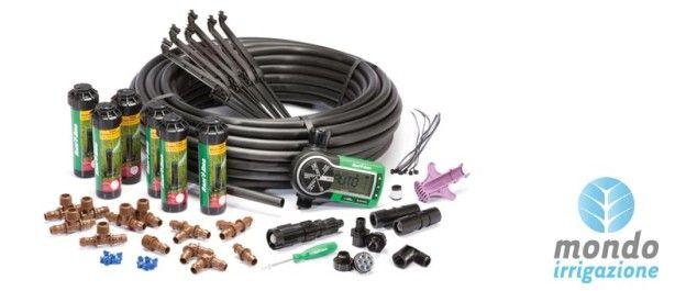 Guida ai componenti di un impianto di irrigazione per - Impianto d irrigazione interrato ...