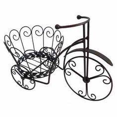 Bicycle Planter Garden Flower Pot Decoration | eBay