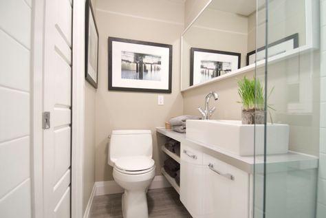8 Ways To Make A Small Bathroom Look Bigger Small Bathroom Renovations Small Bathroom Bathrooms Remodel